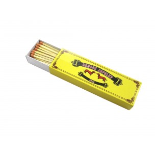 Fire place matches 40 - yellow